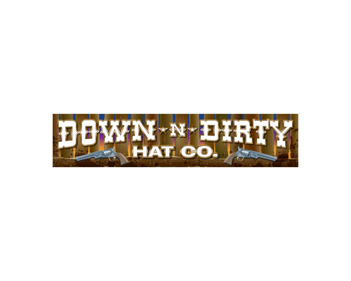 Down & Dirty Hats Sponsor Logo